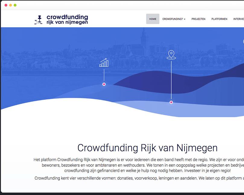 Webapplicatie crowdfunding nijmegen