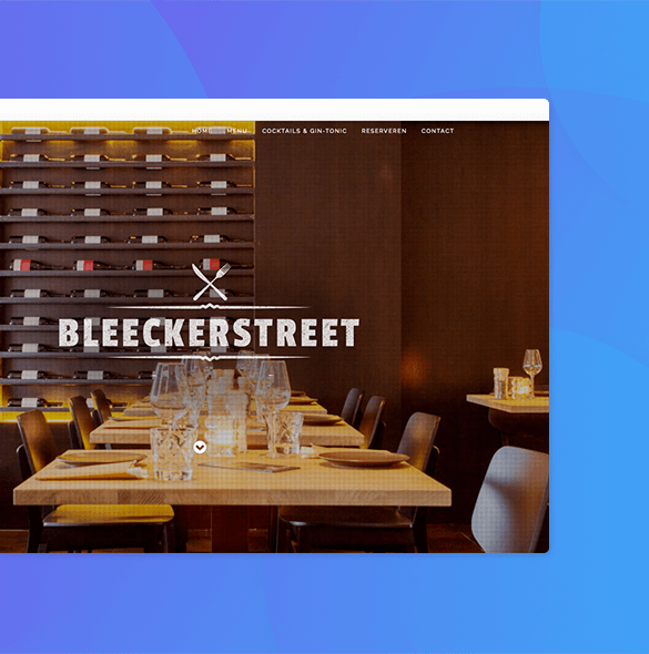 Website Bleeckerstreet restaurant